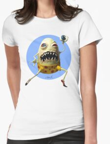Mad Egg Womens Fitted T-Shirt