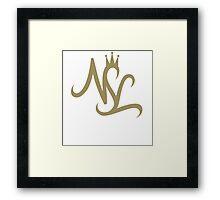 NSL Gold Crown Framed Print
