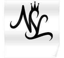 NSL White Crown Poster