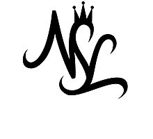 NSL White Crown Photographic Print