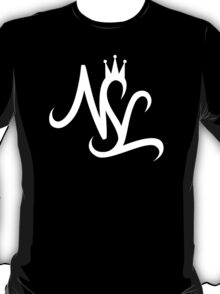NSL White Crown T-Shirt