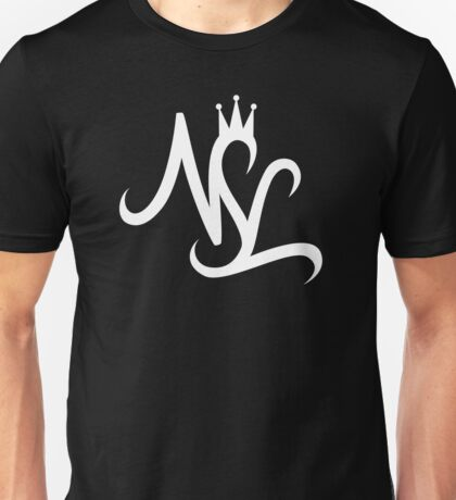 NSL White Crown Unisex T-Shirt