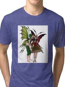 Christmas Fairy Kiss Tri-blend T-Shirt