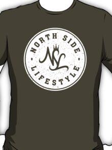NSL White Diamond Crest T-Shirt