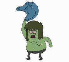 Muscle man Regular Show by joshbased