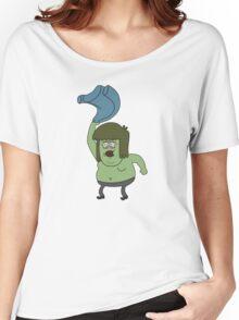 Muscle man Regular Show Women's Relaxed Fit T-Shirt