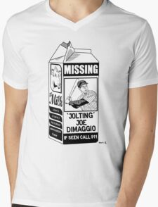 Where have you gone Joe DiMaggio? Mens V-Neck T-Shirt