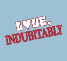 Love Indubitably Kids Clothes