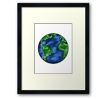 Colorful Earth Framed Print