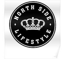 NSL White Royal Crown Poster