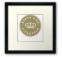 NSL Gold Royal Crown Framed Print