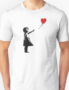 Banksy - Girl with Balloon T-Shirt