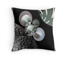 Orbiting The Death Star Throw Pillow