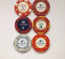 Casino Chips by bazil