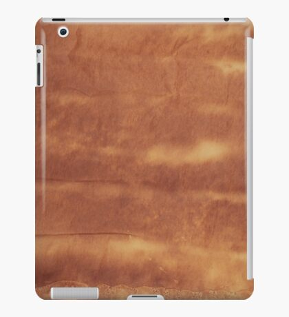 Old paper texture iPad Case/Skin