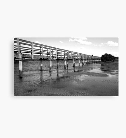 Urunga boardwalk Canvas Print
