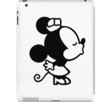 Couple design: Minnie iPad Case/Skin