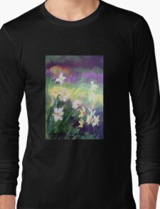 Majestic Daffodils Long Sleeve T-Shirt