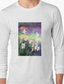 Majestic Daffodils Long Sleeve T-Shirt