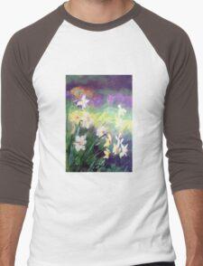 Majestic Daffodils Men's Baseball ¾ T-Shirt