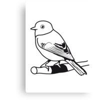 Sparrow bird animal nature design Canvas Print