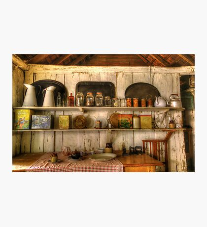 In the Kitchen. Photographic Print