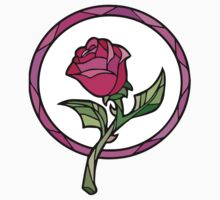 Stained Glass Rose | Beauty and the Beast One Piece - Long Sleeve