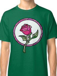 Stained Glass Rose | Beauty and the Beast Classic T-Shirt