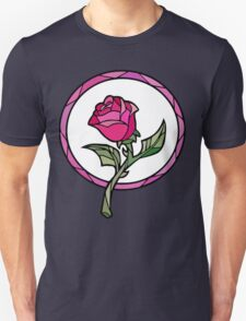 Stained Glass Rose | Beauty and the Beast Unisex T-Shirt