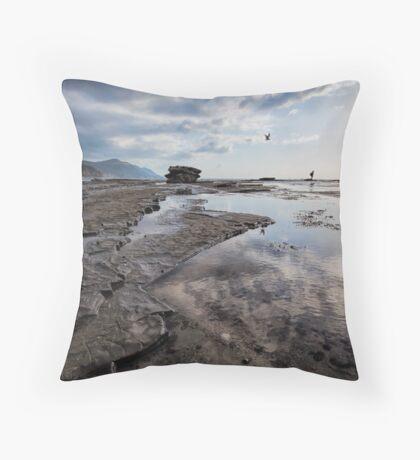 Morning Patterns Throw Pillow
