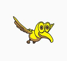 Bird animal cute funny design Unisex T-Shirt