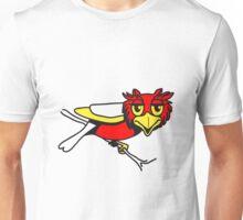 OWL bird uhu cool comic Unisex T-Shirt