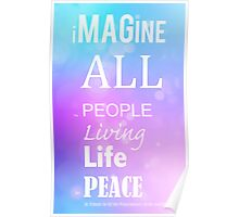 Imagine - Peace Poster