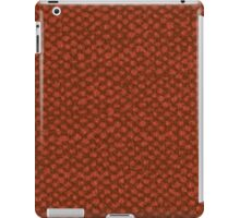 Red vinyl texture iPad Case/Skin