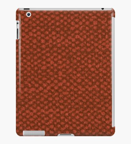 Red vinyl texture iPad Case/Skin