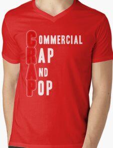 CRAP - White Mens V-Neck T-Shirt