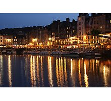 Honfleur at night Photographic Print