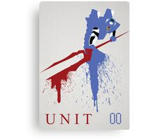Unit 00 Canvas Print