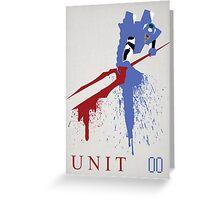 Unit 00 Greeting Card