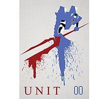 Unit 00 Photographic Print