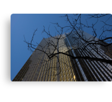 Toronto's Golden Bank - Royal Bank Plaza Downtown Canvas Print