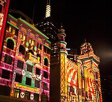 Melbourne - White Night 13 by DavidsArt