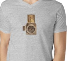 Wood Hassel Mens V-Neck T-Shirt