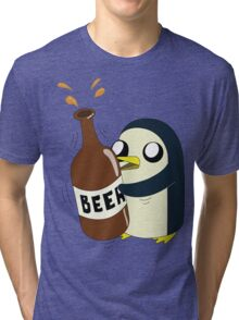Gunter Loves Beer Tri-blend T-Shirt