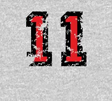 Number Eleven - No. 11 (two-color) red T-Shirt