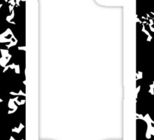 Number Eleven - No. 11 (two-color) white Sticker