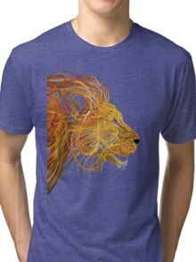 Wire Lion Tri-blend T-Shirt