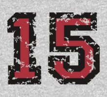 Number Fifteen - No. 15 (two-color) red by theshirtshops
