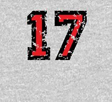 Number Seventeen - No. 17 (two-color) red T-Shirt