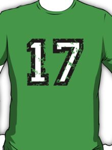 The Number Seventeen - No. 17 (two-color) white T-Shirt